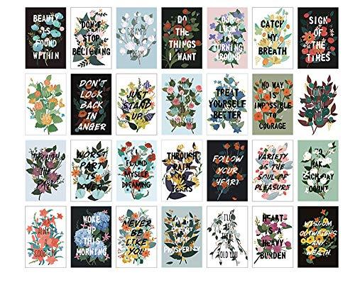 Vazan - Box Folge deinem Herzen schön folgt kreative lomo kleine Karten Mitteilungskarte Postkarte Urlaub Universal-Geschenk-Karten [2pc]