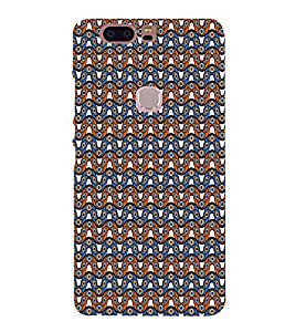 Abstract Wave Pattern 3D Hard Polycarbonate Designer Back Case Cover for Huawei Honor V8
