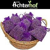 10 Lavendelsäckchen mit 200 g !!!! frischen französischem Lavendel Lavendelblüten der Provence in Lebensmittelqualität gefüllt ! Tolles Dufterlebnis Duftsäckchen