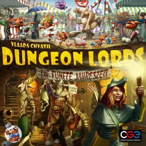 Preisvergleich Produktbild Heidelberger CZ026 - Dungeon Lords: Die fünfte Jahreszeit - Erweiterung
