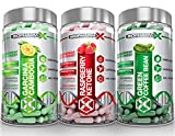 Garcinia Cambogia & Raspberry Ketones & Green Coffee Bean Extract (Multi-Saver Pack) from BioPharm-X