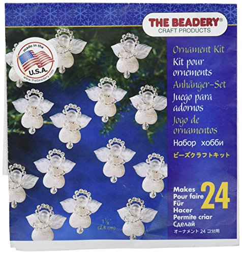 Beadery verschiedenen Holiday Perlen Ornament Kit Littlest Angels 2,85 ° cm Macht 24