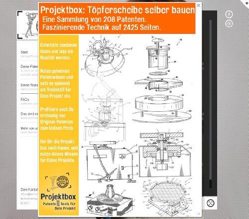 Töpferscheibe selber bauen: Deine Projektbox inkl. 208 Original-Patenten bringt Dich mit Spaß ans Ziel!