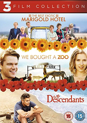 The Best Exotic Marigold Hotel / We Bought a Zoo / The Descendants [DVD] [2011]