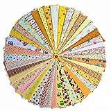 Grannycrafts 42pcs 11,8 x 7,87 Pulgadas (30 x 20 cm) Parte Superior Algodón Impreso Craft Tela Cuadrados Patchwork Pelusas Impresión de Tela Tejido DIY Coser Scrapbooking Acolchar
