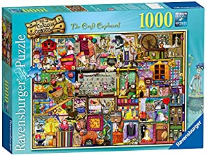 Ravensburger Colin Thompson - The Craft Cupboard, Rompecabezas de 1000 Piezas, 70 x 50 cm 194124