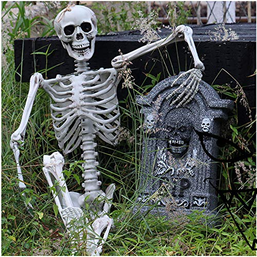 T.boys Skelett Modell der menschliche Schädel mit Spielzeug, Mini, Motiv Halloween lebensgroßes Knochenmodell,Ghost Festival Voller Kopf Sehr realistisch. (A)