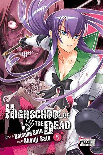Highschool of the Dead, Vol. 5 por Daisuke Sato