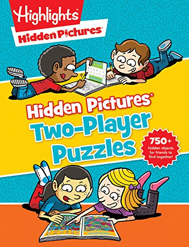 Hidden Pictures® Two-Player Puzzles (Highlights(TM) Hidden Pictures® Two-Player Puzzles) (Hidden Picture Puzzles)