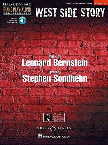 West Side Story: Piano Play-Along Volume 130 (Hal-Leonard Piano Play-Along)