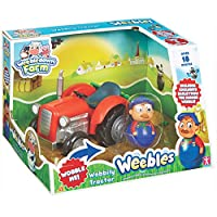 Character Options Kids Weebledown Farm Wobbily Tractor And Farmer