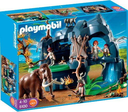 Playmobil 626677 - Edad Piedra Cueva con Mamuts