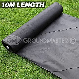 10M Long GROUNDMASTER Weed Control Fabric Landscape Ground Cover Membrane