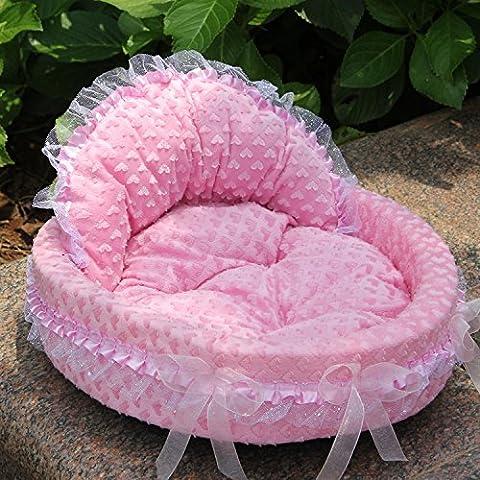 Animale domestico cane canile Princess Princess nidificare lesbiche domestico letto Wo , pink ,