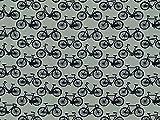 Minerva Crafts Fahrräder Print Baumwolle Popeline Stoff
