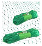 #1: Krisah® Green Anti Bird Net (19 mm Mesh Size) with Cable Ties for Easy Tying