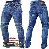 Trilobite Micas Motorrad-Jeans für Herren, im modernen Slim-Fit-Stil