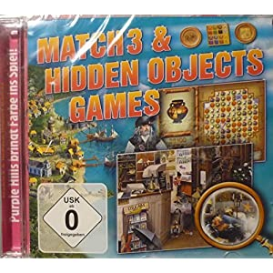 Match 3 & Hidden Objects Games,