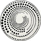 ESPRIT Eddy Moderner Markenteppich, Polypropylen, Weiß, 150 x 150 x 1.3 cm