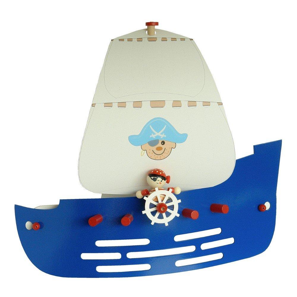 Elobra Kinder Lampe Wandlampe Piratenschiff Wandleuchte ...