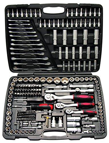 Werkzeugkoffer, 216Handwerkzeuge