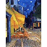 Wee Blue Coo Vincent Van Gogh Cafe Terrace Place du Forum Arles 1888 Wall Art Print Mur Décor 30 x 41 cm