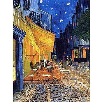 1art1 32466 Poster Vincent Van Gogh Caf/é de Nuit IV 91 X 61 cm