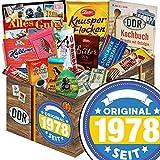 Original seit 1978 | Ossi Schokolade | Schokolade Geschenkset L | Maulwurf, Viba, Zetti Bambina | Geschenkset Geburtstag für Freundin Geschenke Geburtstag für Ihn Schokoladengeschenk Männer