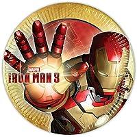 Piatti festa Iron Man 3