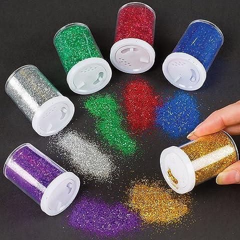 Glitter-Streuer - Glitzer aus der Dose - für Kinder zum