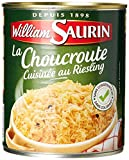 William Saurin Choucroute Cuisinée au Riesling 810 g