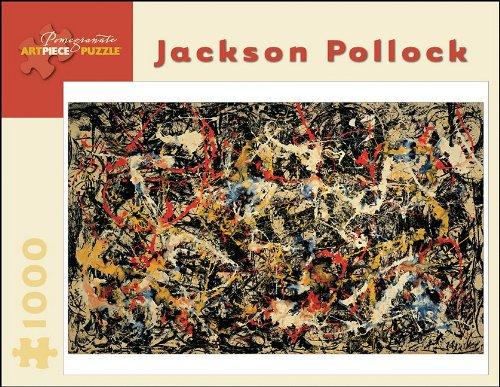 Jason Pollock - Convergence: 1,000 Piece Puzzle (Pollocks Abstrakte Jackson Kunst)