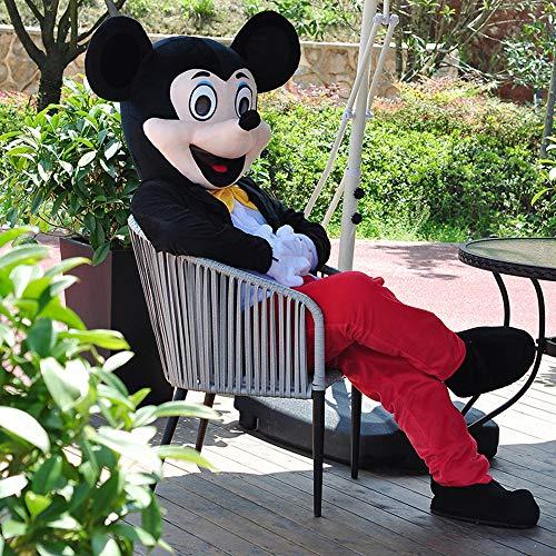 Minnie Mickey Maskottchen Cartoon Puppe Kostüm Walking Cosplay Requisiten Mickey Mouse Anime Performance Puppe Kleidung Aktivität Display Werbung (Tragen Maskottchen Kostüm)