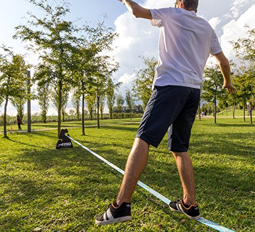SPIDER SLACKLINES TRAINING line 18m klettern jonglieren - 12