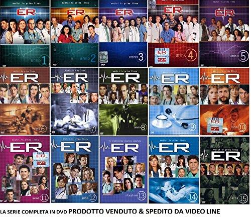 ER E.R. Medici in Prima Linea - La Serie Completa Stag 01-15 Cof. Singoli (49 DVD) IN ITALIANO
