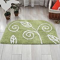 GFYWZ Della famiglia intervenendo alla porta stuoie tappeti bagno tappetino , green , 50*80cm