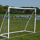 Portería de Fútbol Samba 2,43 m x 1,83 m - Postes de Jardín, Completa con Red,...