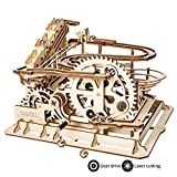 ROKR Mechanical Gears DIY Building Kit Modelo mecánico Kit de construcción con Bolas para Adolescentes y Adultos (Waterwheel Coaster)