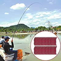 Sungpunet - Señuelo de Pesca Artificial con Cebo Suave DE 3,5 cm, 50 Unidades