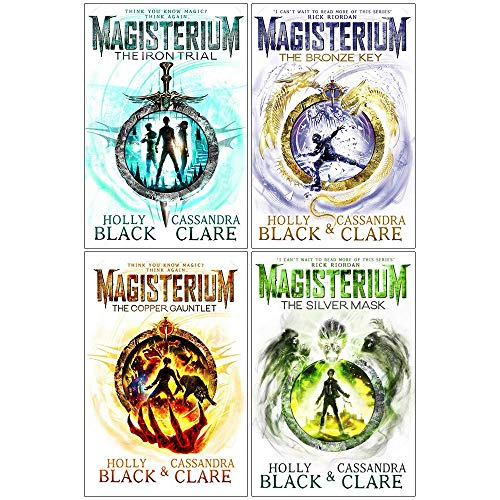The Magisterium Series 4 Books Set (The Iron Trial, The Copper Gauntlet, The Bronze Key, The Silver Mask) -