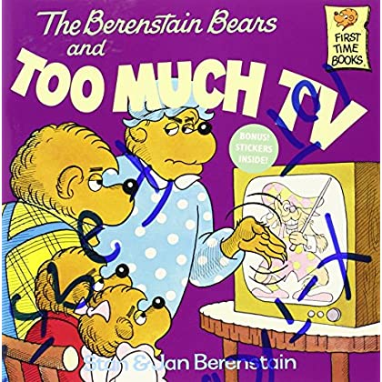 The Berenstain Bears and Too Much Television (First time books) by Stan Berenstain (31-May-1984) Paperback