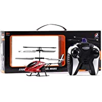 KIING Stainless Steel Helicopter with Radio Remote Control and Hand Sensor Charging Helicopter 2 in 1 Toys with 3D Light…