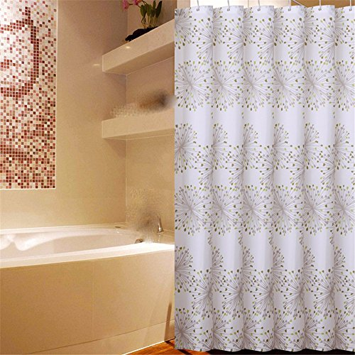Bathroom Cut Off The Shelves Of Polyester Cloth Shower Curtains Curtain Waterproof Mold Thickening200180A4