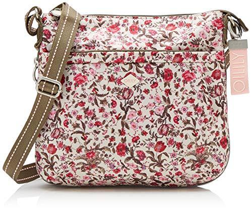 Oilily Damen Groovy Shoulderbag Mvz 1 Schultertasche, Pink (Fuchsia), 9.5x23.0x25.0 cm