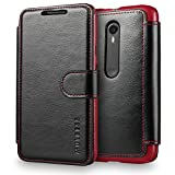 Mulbess Wallet Case for Motorola Moto G 3rd, [Layered Dandy