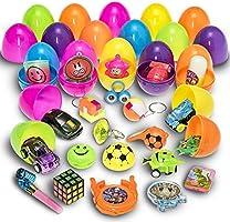 30 oeufs de pâques remplis de jouets Prextex avec mini jouets et breloques