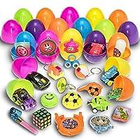 Ces oeufs de Pâques remplis surprenants sont un must absolu ! Que ce soit pour les chasses aux oeufs de Pâques, les fêtes d'anniversaire et autres occasions, ils sont excellents ! Pas besoin de perdre votre temps à remplir les oeufs. Ces oeufs sont a...