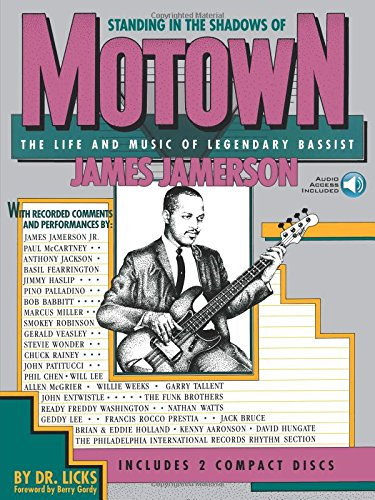 Standing In The Shadows Of Motown: Life & Music Of James Jamerson (Book & CD): Noten, Bundle, CD (2) für Bass-Gitarre (Bass-gitarren-rock-songs)