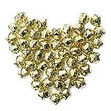 grelot, SEARCHALL métal 50pcs mm tintent cloches cloches petite bell mini festival d'halloween de cloches de mariage en décorations de noël pour le bricolage joaillerie