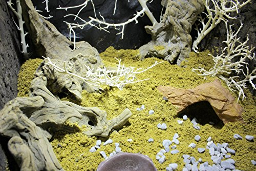 Lucky Reptile DBY-7 Desert Bedding Golden Yellow, 7 l